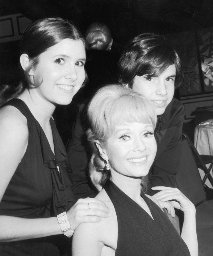 Debbie with her children in 1973.