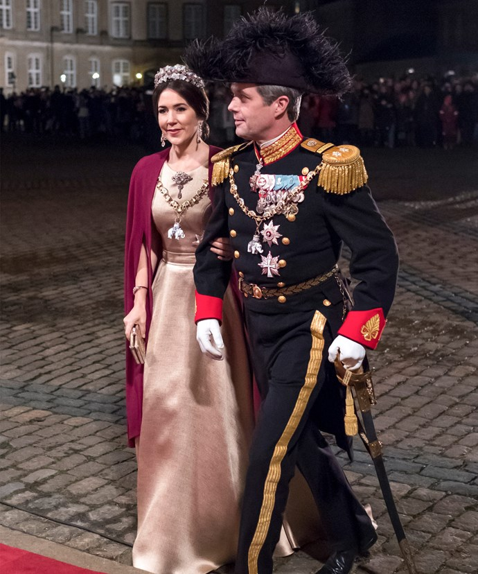 The couple kicked off their first royal engagement ion January 1st, 2017.