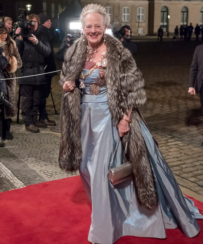 The banquet was hosted by Queen Margrethe