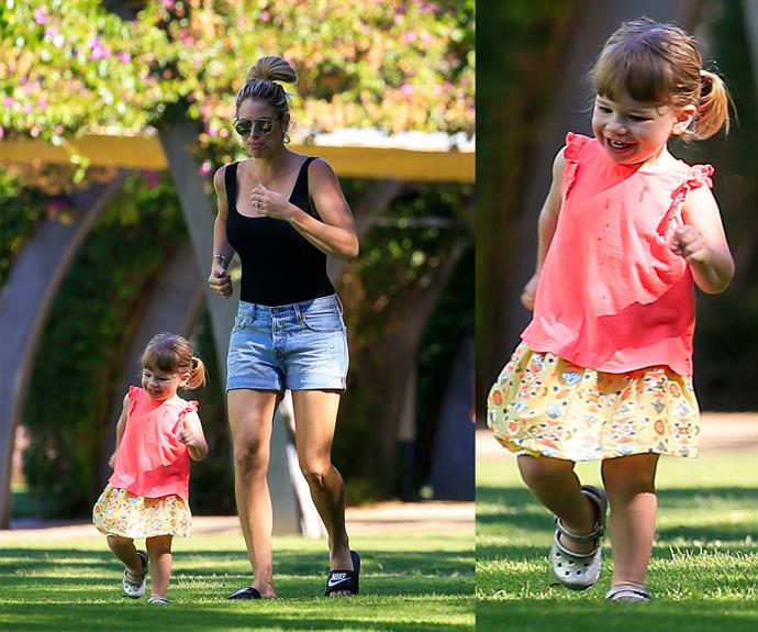 Like mummy, like daughter.