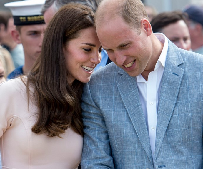 **Finding her inner strength:** While it's clear that Kate has been a pillar for her Prince, William clearly plays the same role for his wife. Since their wedding, their love has only continued to soar.