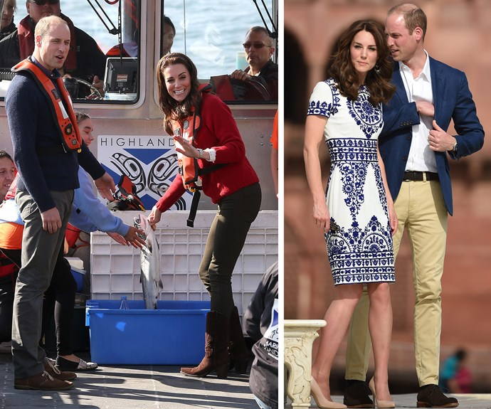 **Work and Play:** The couple embarked on two huge royal tours of India and Canada, and during their time the pair showed how much fun they can have while on the job.