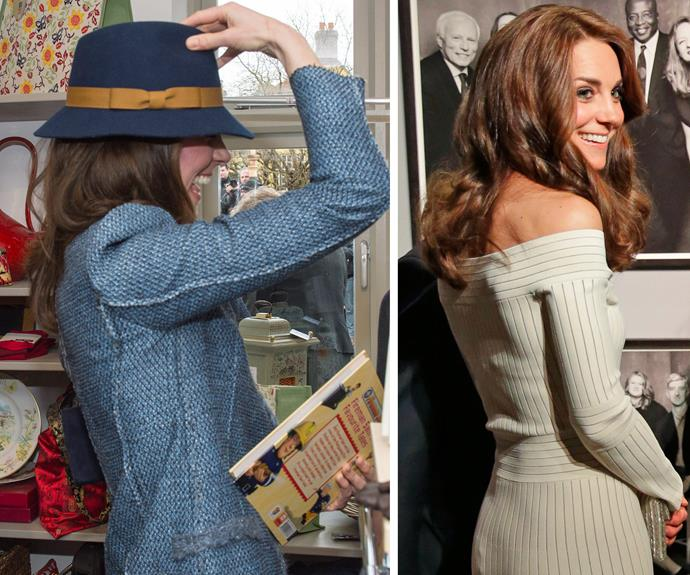 **Bold and beautiful:** The iconic brunette has found with age, she can be more confident and bolder with her looks. From the addition of a cute hat, to showing off her decolletage - Kate is truly the queen of style.