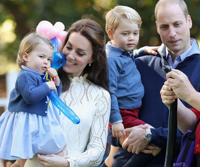 **When the Cambridges took on Canada:** Undoubtedly one of the biggest moments in the 2016 royal calendar. The Duke and Duchess were delighted that their two little ones got to explore one of their favourite places.
