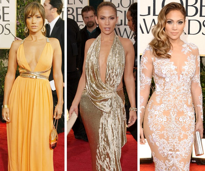 Ladies and gentleman, the one and only Miss Jennifer Lopez! This red carpet pro has slayed her GG looks.
