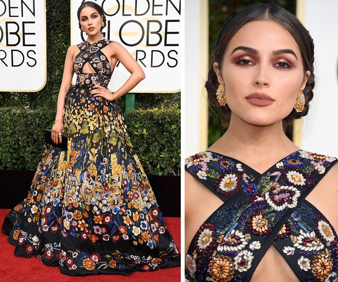 Olivia Culpo packs a very floral punch!