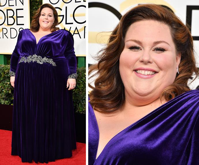 *This Is Us*'s Chrissy Metz is set for an exciting night! The star is nominated for Best Supporting Actress.