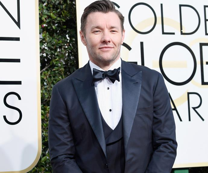 Aussie nominee Joel Edgerton is in the house!