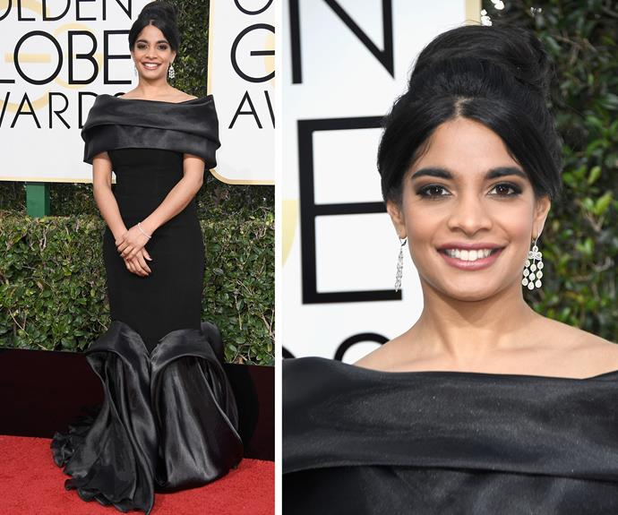 We can't get enough of Amara Karan's fishtail frock.