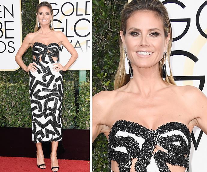 Heidi Klum always looks glam.
