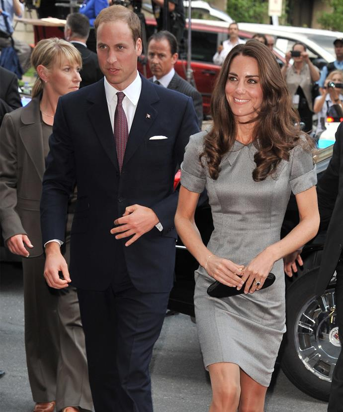 Kate often turns to the British fashion house.