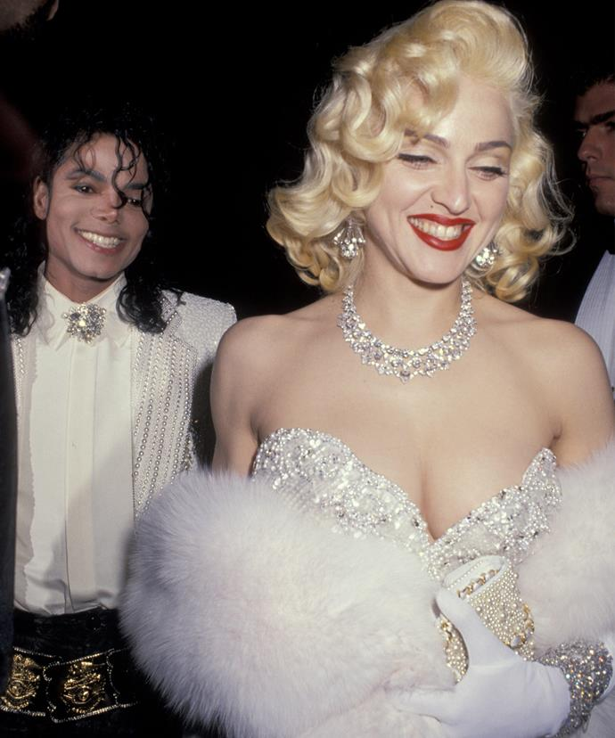 Madonna and Michael were linked together in the early '90s and remained close friends.