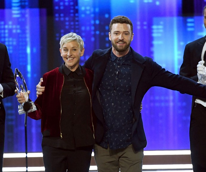 She did it! Ellen DeGeneres just made PCA history taking home her 20th award!