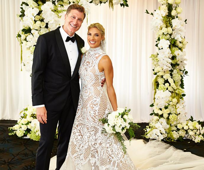 Red Wiggle Simon Pryce and his sweetheart Lauren Hannaford brought in the new year as husband and wife!