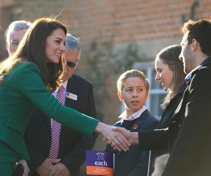 Finnbar's family was moved by the royal's compassion.