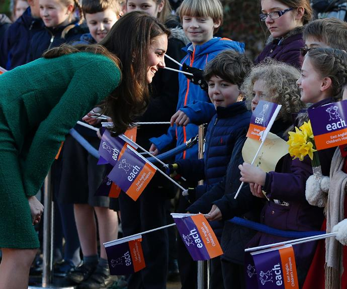 The young kids adore Prince George and Princess Charlotte's mum.