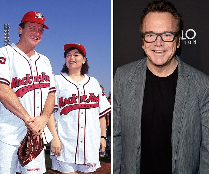 Tom was famously married to Roseanne.