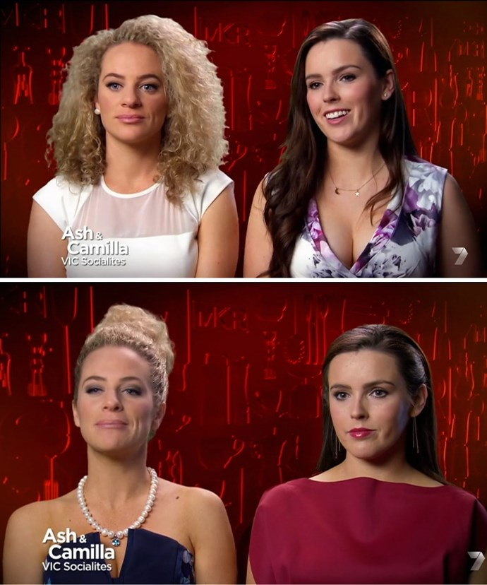 Ash had viewers in stitches during her MKR days.