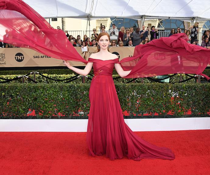 Annalise Basso knows how to twirl!