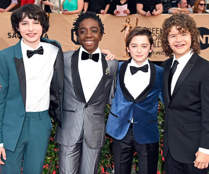 It's a *Stranger Things* reunion!