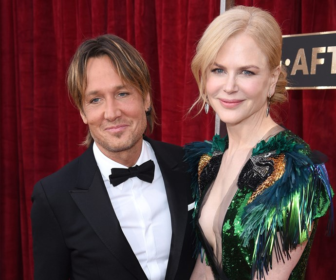 """Proud husband Keith Urban praised his wife Nicole Kidman's work in *Lion*. """"It's such a powerful story. The crying is about the triumph of the film,"""" he told *E! News*."""