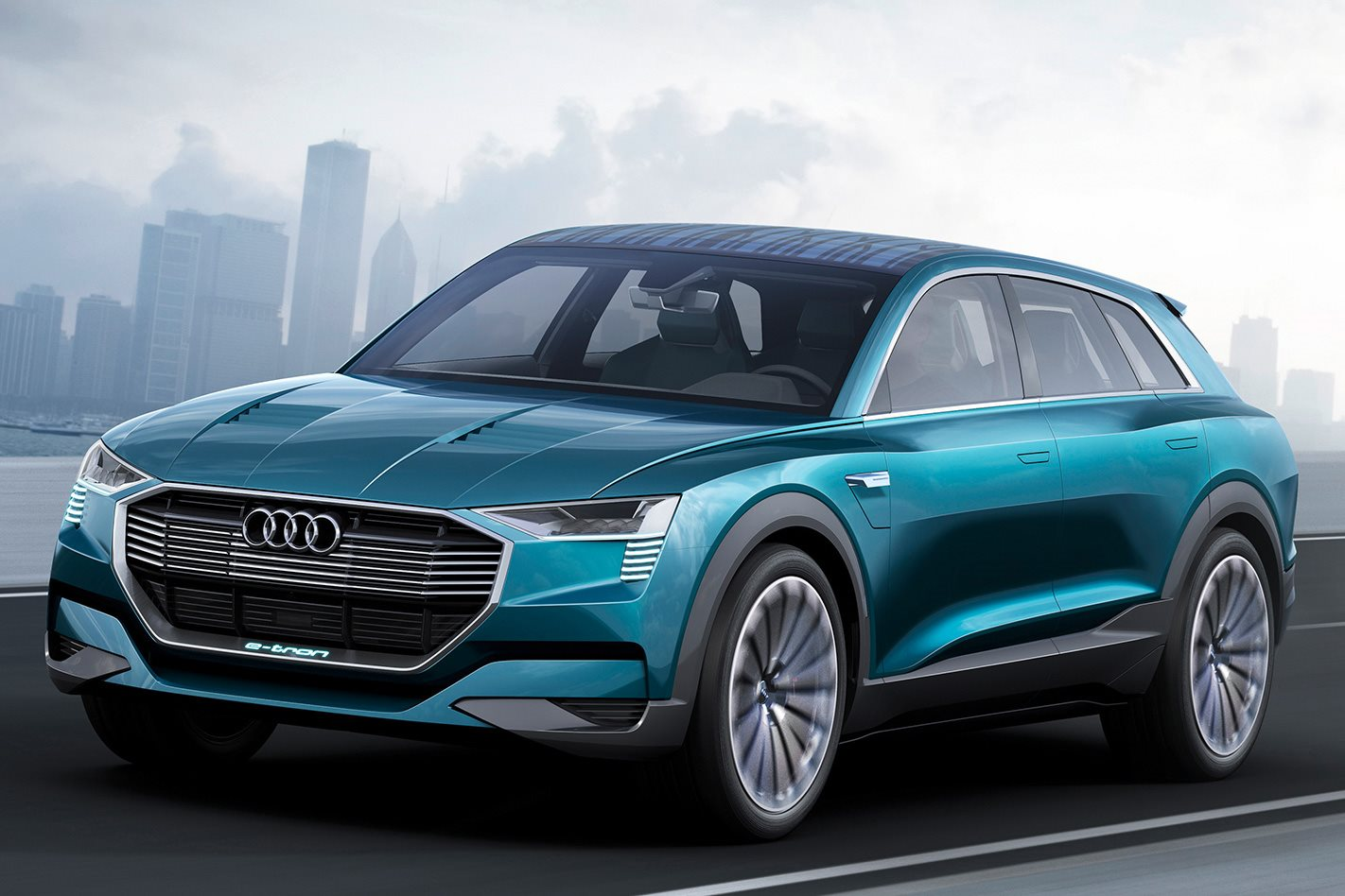 Audi Points To Q6 E-tron With Electric Quattro SUV