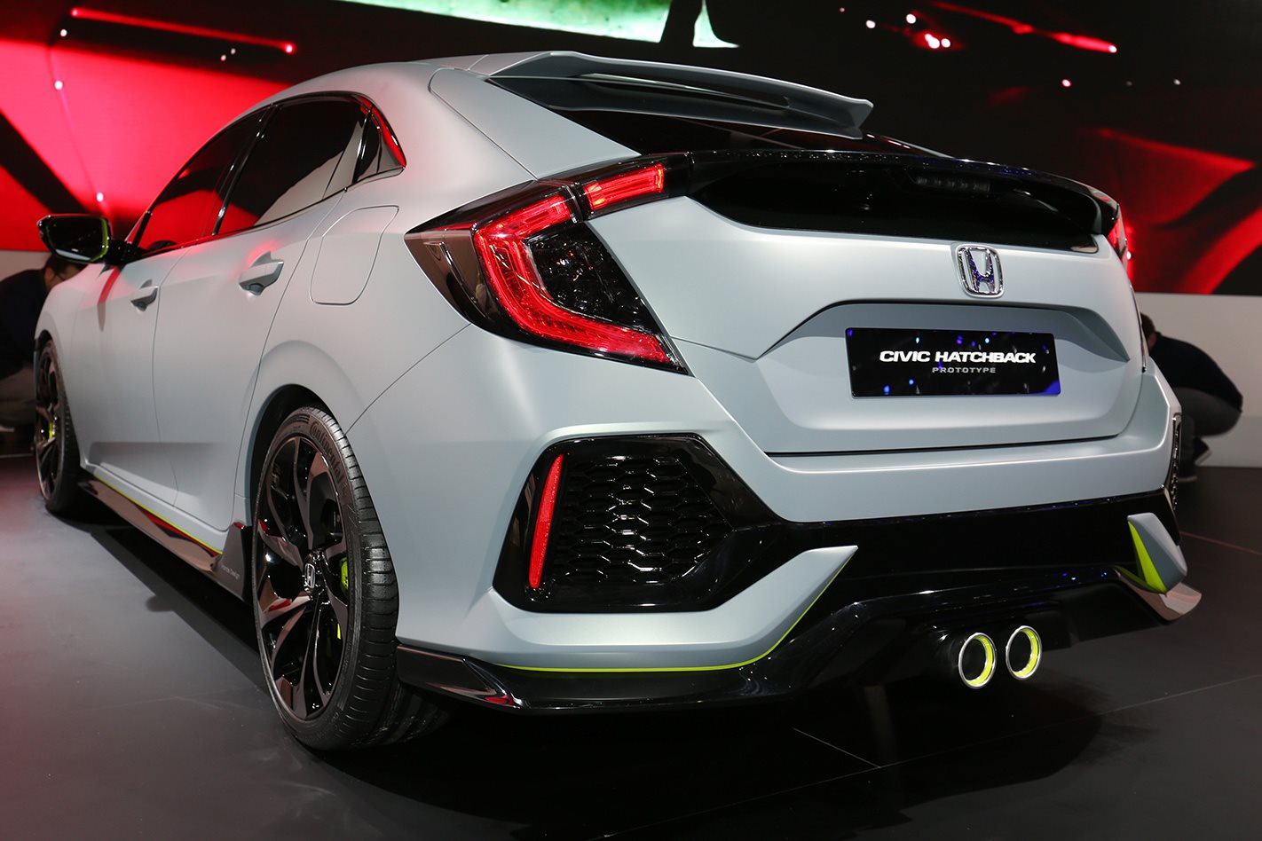 2016 geneva motor show honda civic hatch type r for. Black Bedroom Furniture Sets. Home Design Ideas