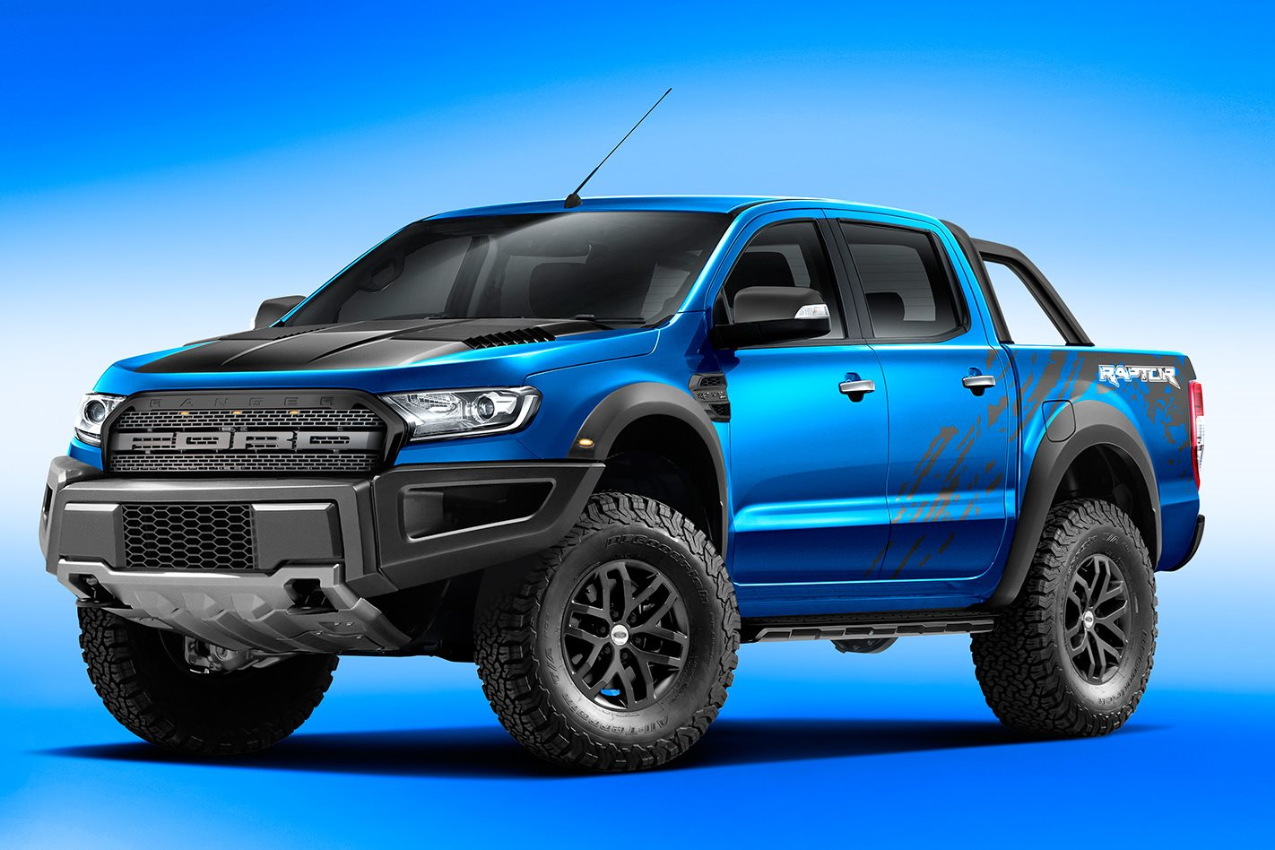 Ford Ranger Raptor Hsv Colorado Toyota Hilux Trd And