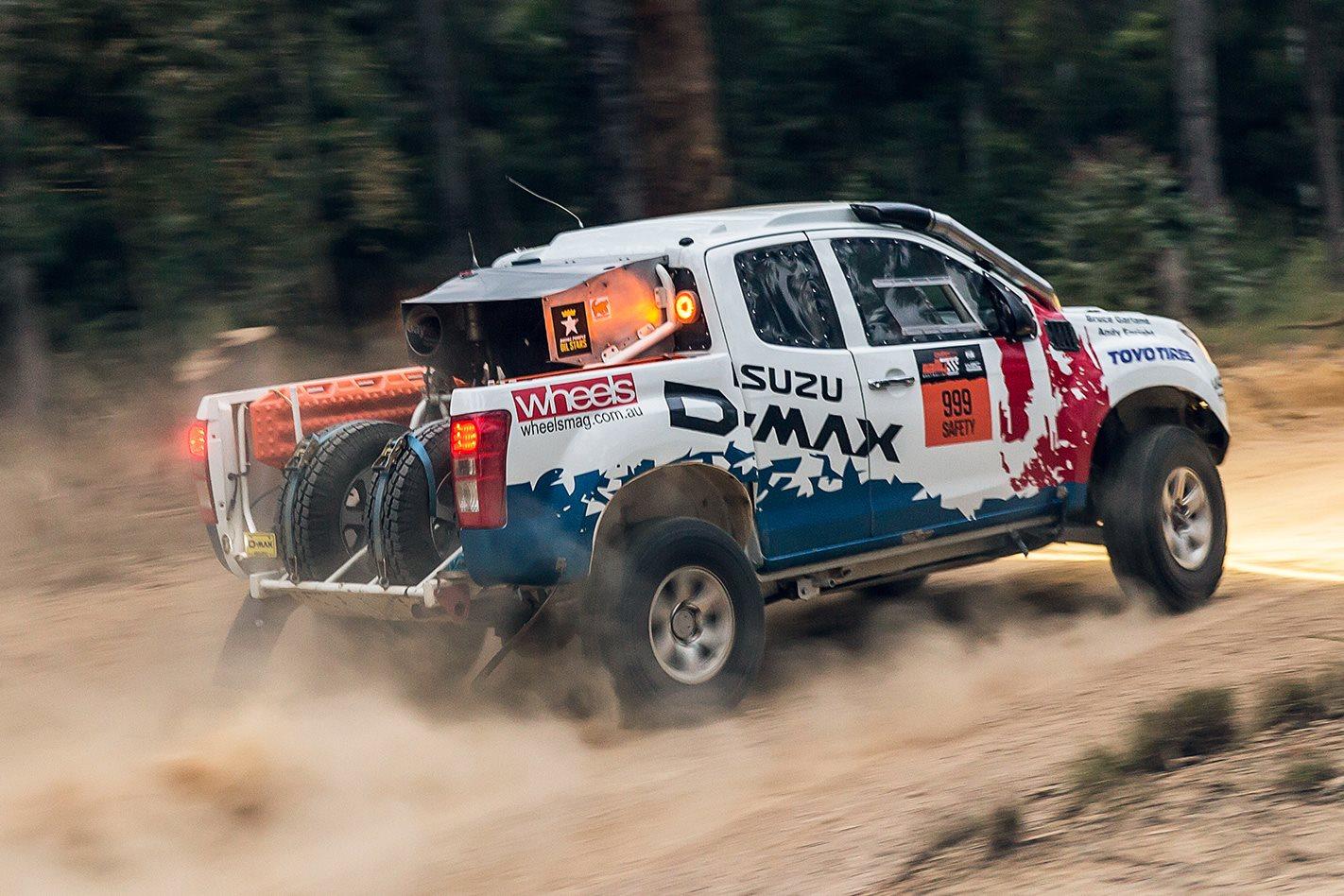 Bruce Garland Tackles Rally Australia In An Isuzu D Max Dakar Ute