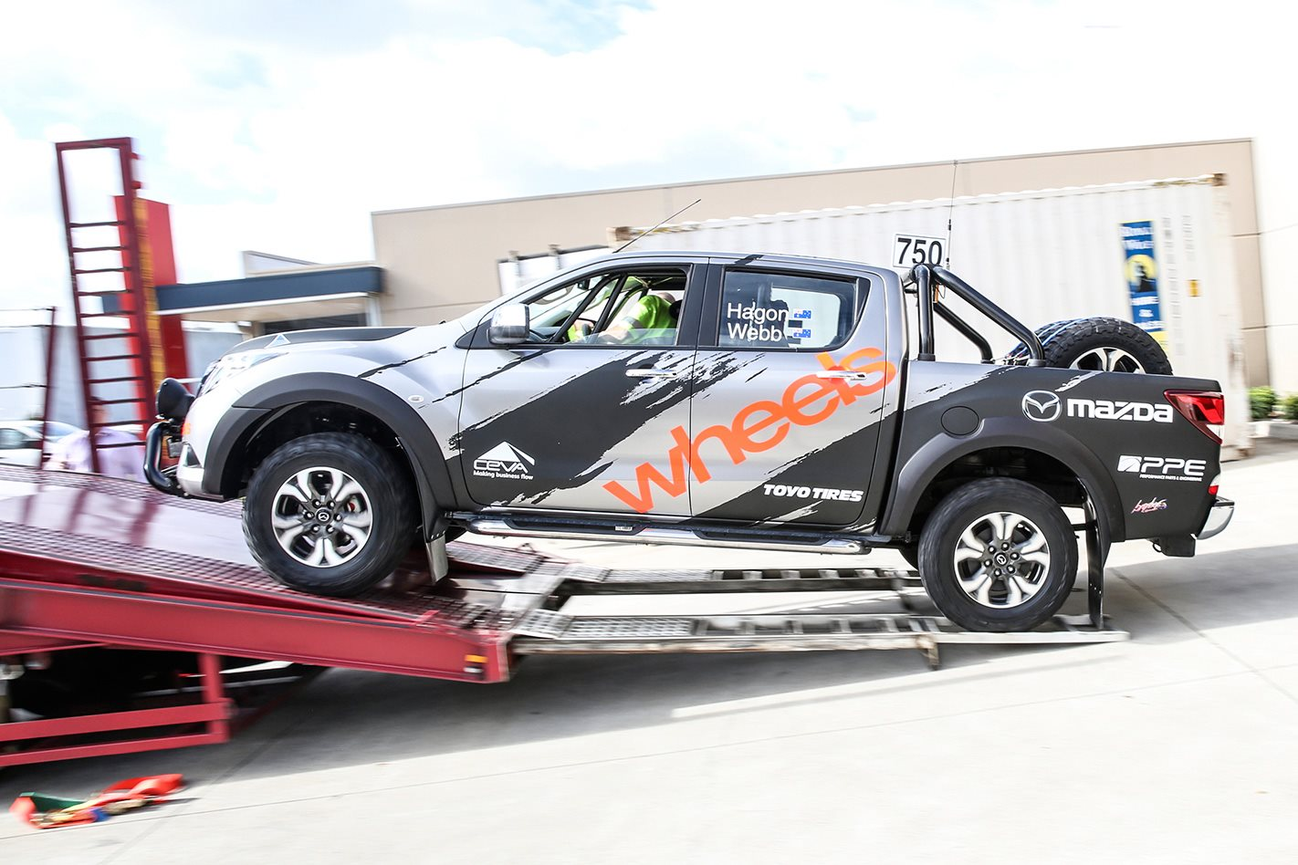 Finke Desert Rally Prepping The Mazda Bt 50