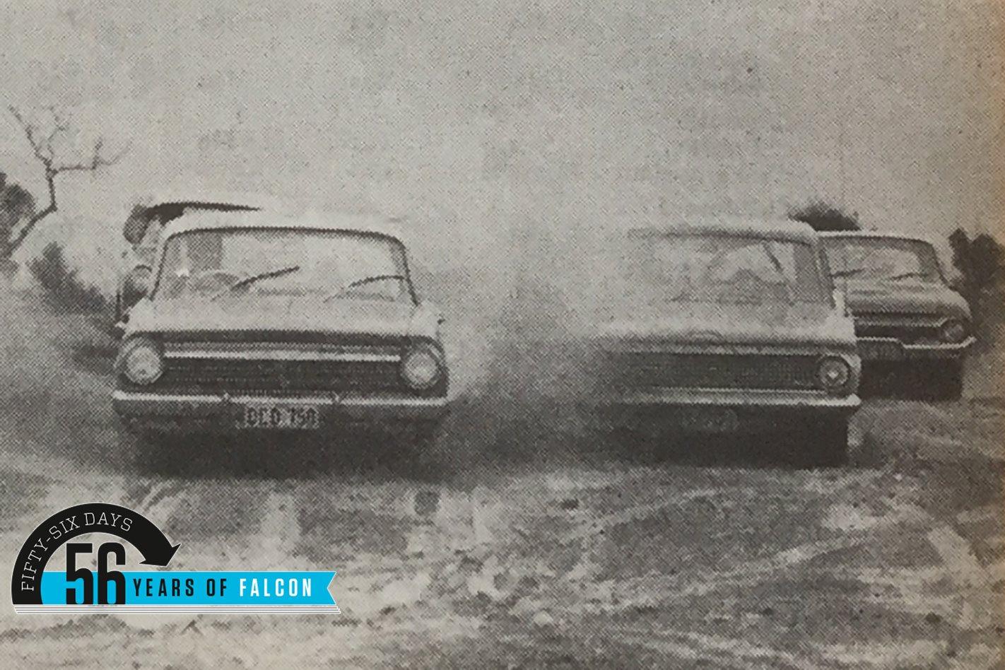 1963 Ford Falcon V Holden V Valiant V Freeway