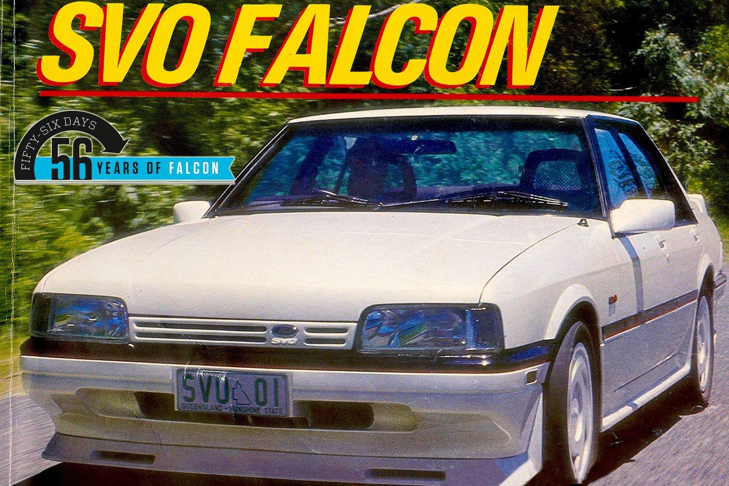 1987 Ford Falcon XF SVO