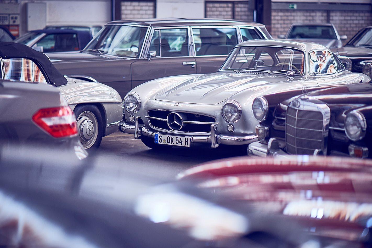 Inside Mercedes-Benz's top-secret car bunkers