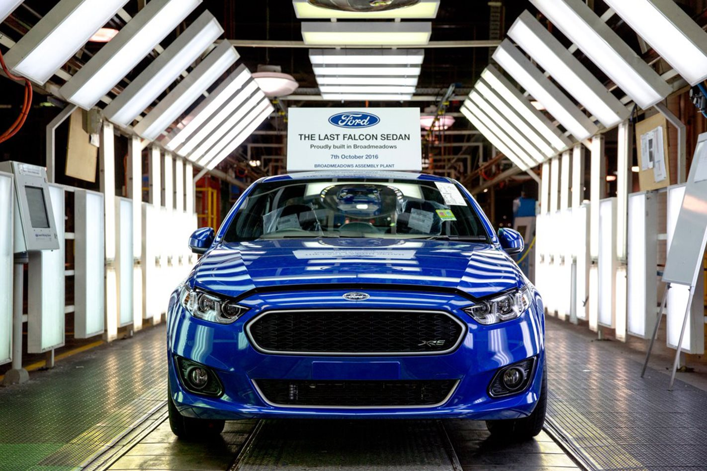 The last Australian Ford Falcon revealed