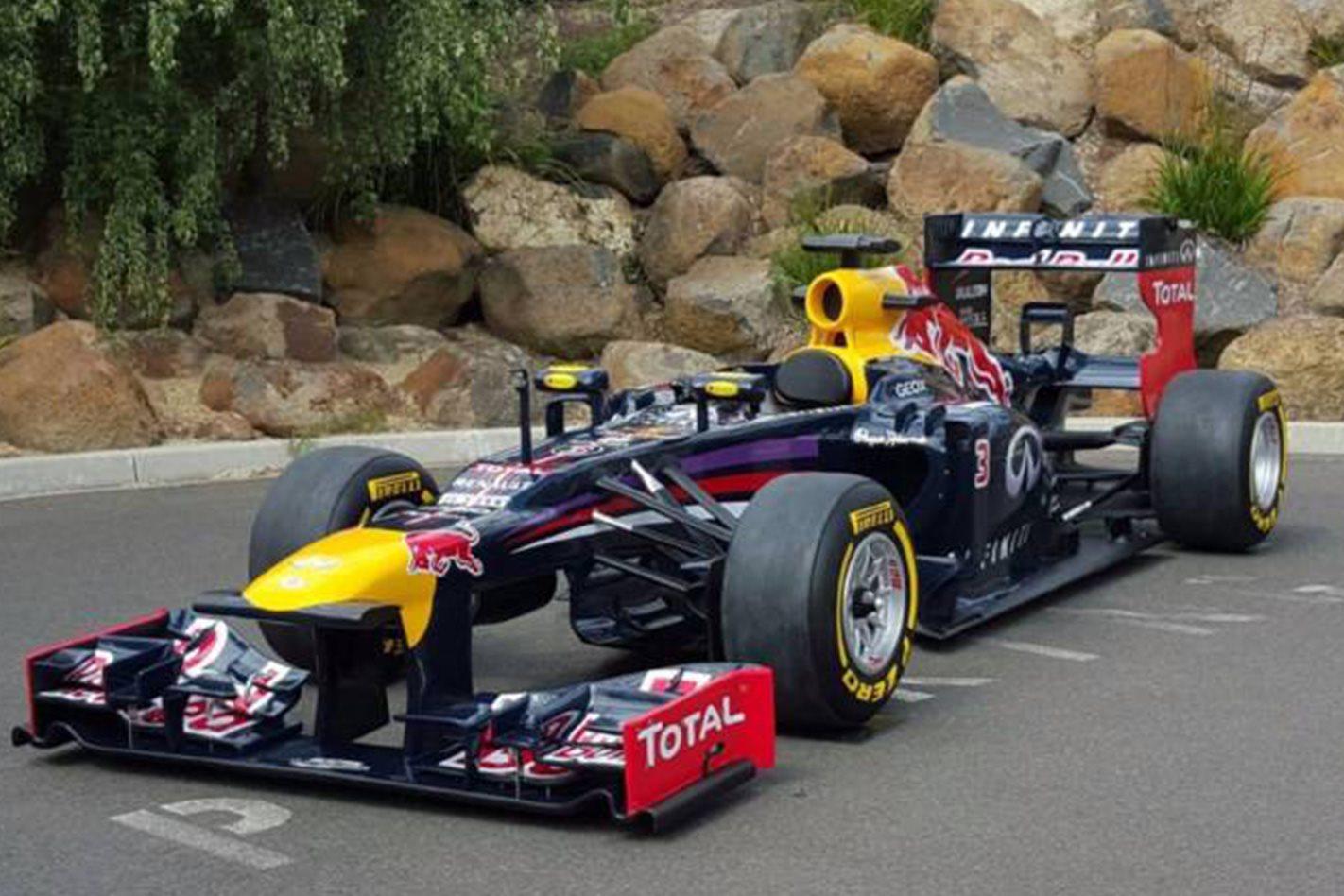 2013 Red Bull F1 Car For Sale In Australia