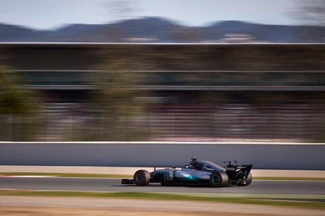 Mercedes Formula One Car