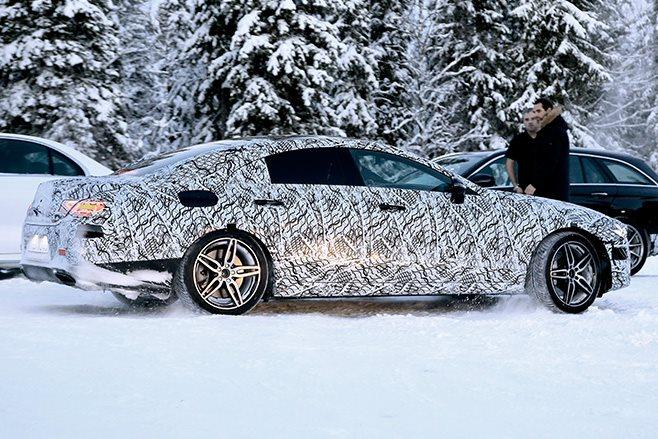 2018 Mercedes-Benz CLS side