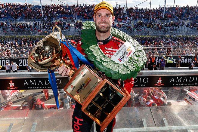 Shane van Gisbergen wins at Clipsal 500