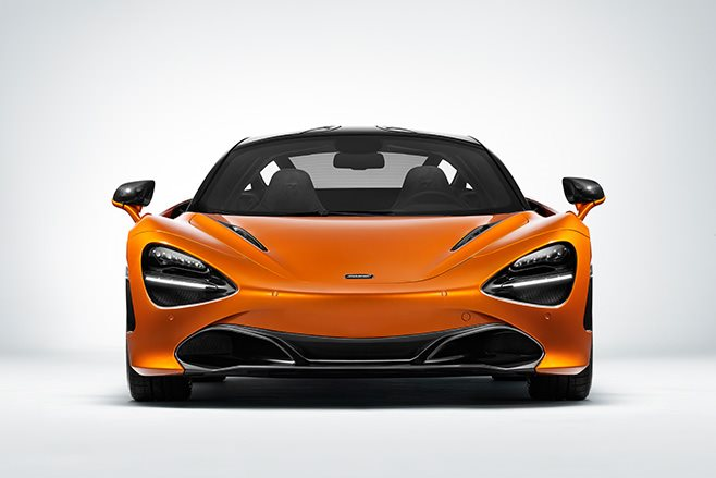 McLaren 720S Coupe front