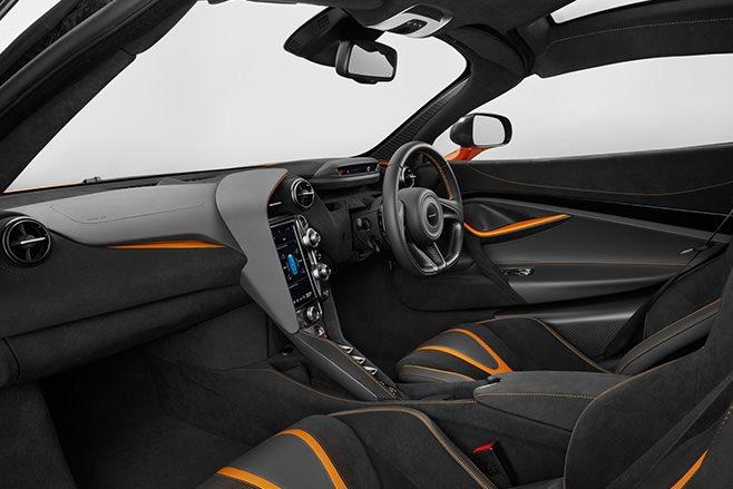 McLaren 720S Coupe interior