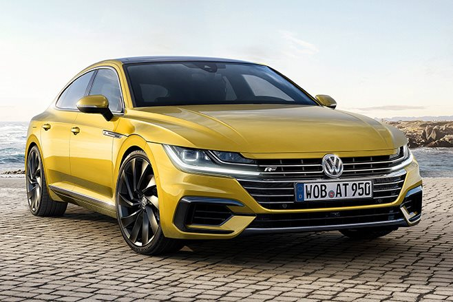 Volkswagen Arteon revealed at 2017 Geneva Motor Show