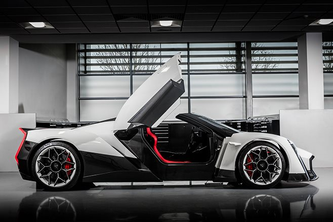 Dendrobium Electric Hypercar from Singapore