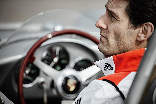 Mark Webber in Porsche