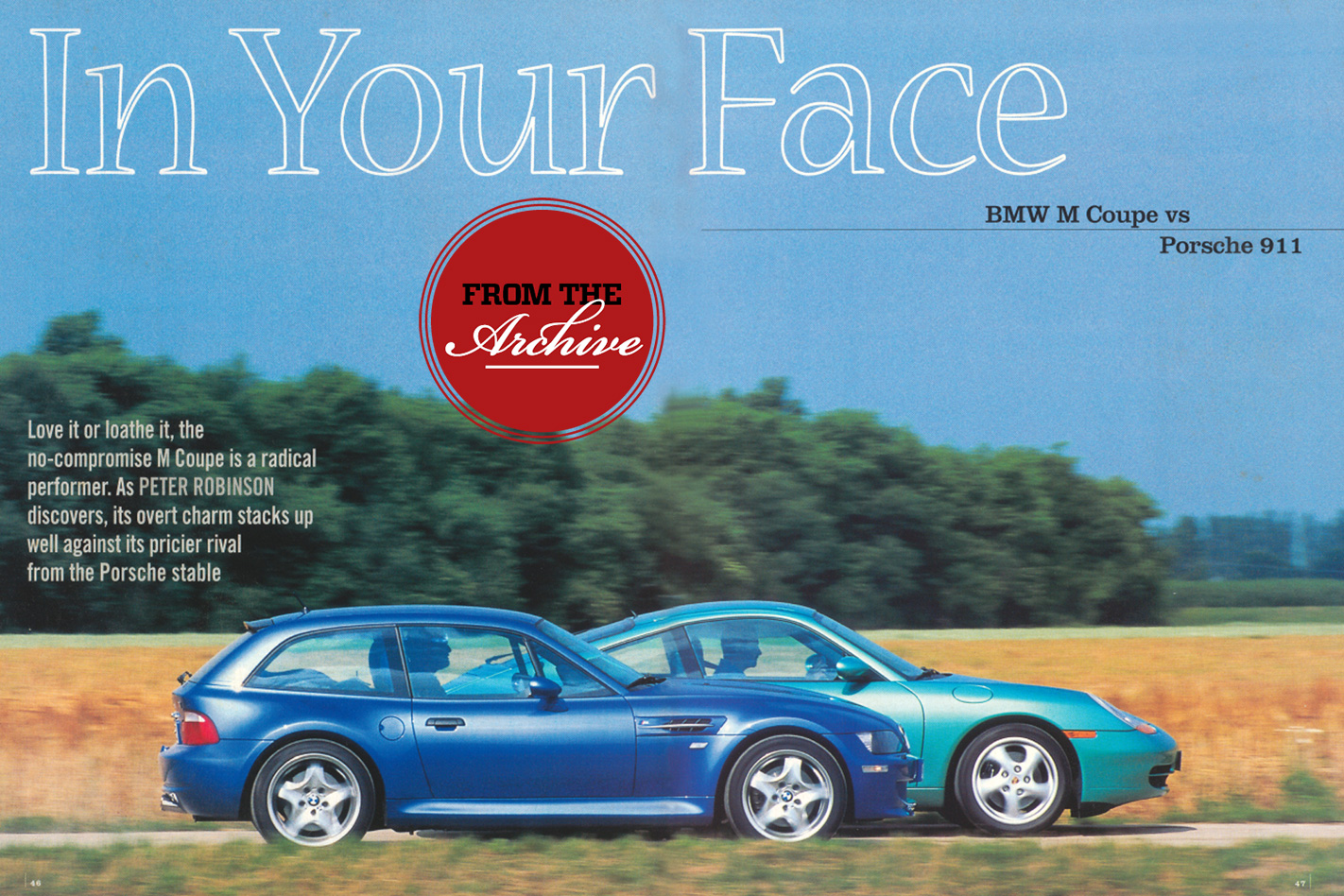 Archive Bmw M Coupe V Porsche 911 Comparison Review