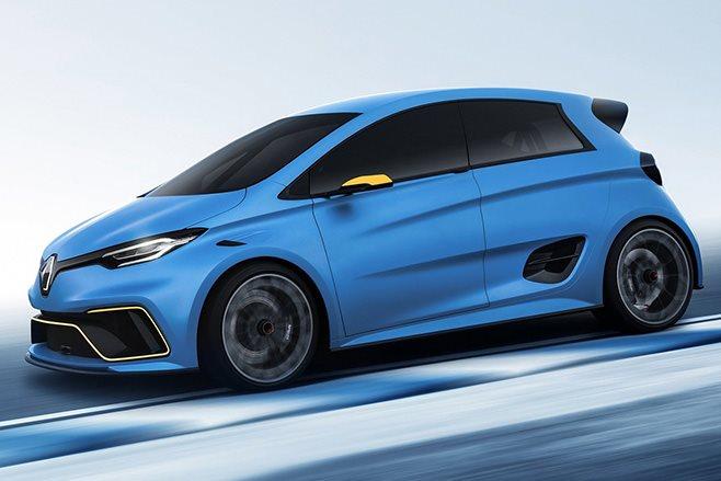 Renault Zoe e-Sport front side