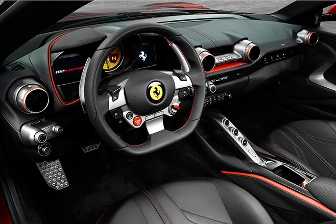 Ferrari 812 Superfast revealed at 2017 Geneva Motor Show