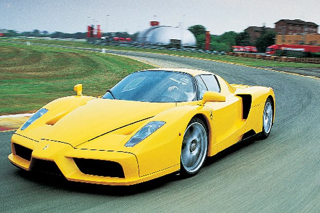 2002 Ferrari Enzo close up