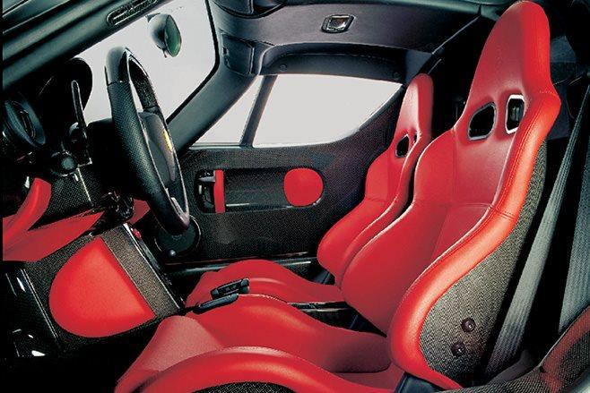 2002 Ferrari Enzo interior
