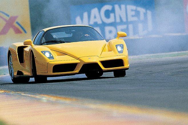 2002 Ferrari Enzo race track