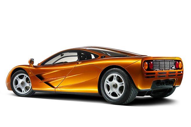McLaren F1 side view